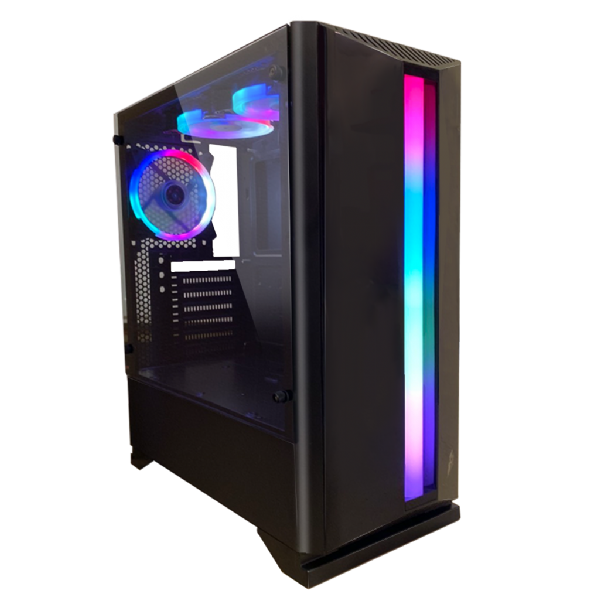 1St Player Rainbow R6 Midi Tower 3x Fan
